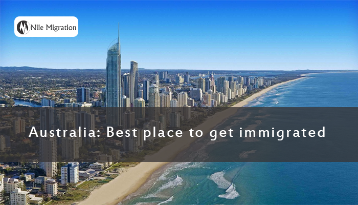 Australia Best place to get immigrated copy