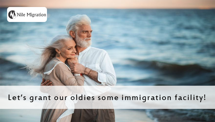 Let's grant our oldies some immigration facility! copy