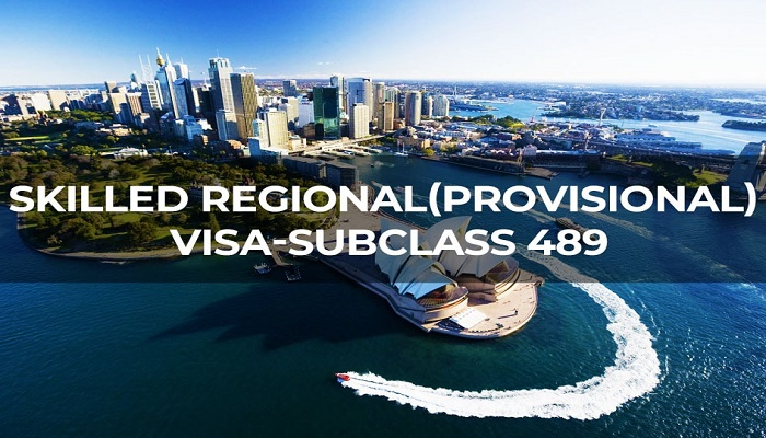 Australia skilled nominated visa subclass- 489