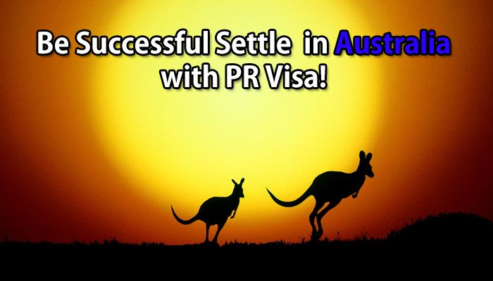 sucessful settle in australia